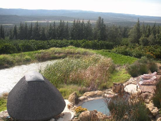 Addo Dung Beetle Guest Farm: view from resting room