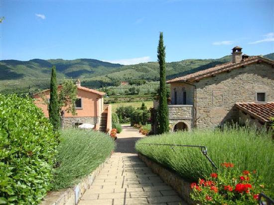 Casa Portagioia: viale d'ingresso