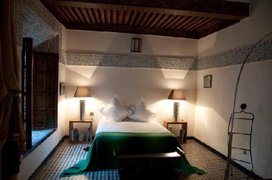 Riad Laaroussa Hotel and Spa : Green Suite
