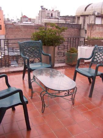 Hotel Gillow: El balcón de nuestra habitación