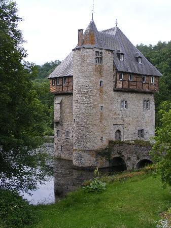 Crupet, เบลเยียม: Le Moulin des Ramiers. June 2010
