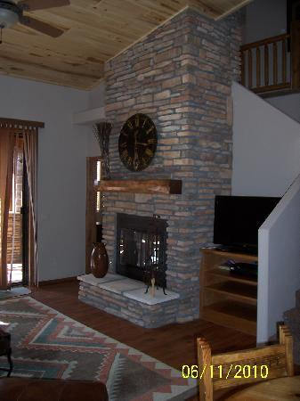 Torreon Golf Club: gas fire place