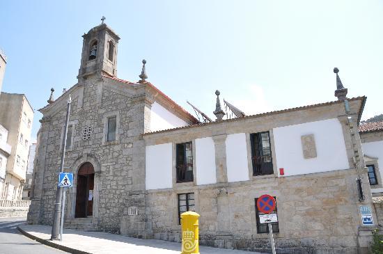 A Guarda, Hiszpania: Fachada principal