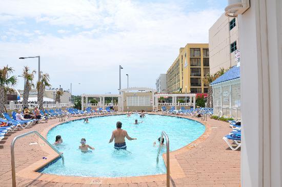 Springhill Suites Virginia Beach Oceanfront Pool