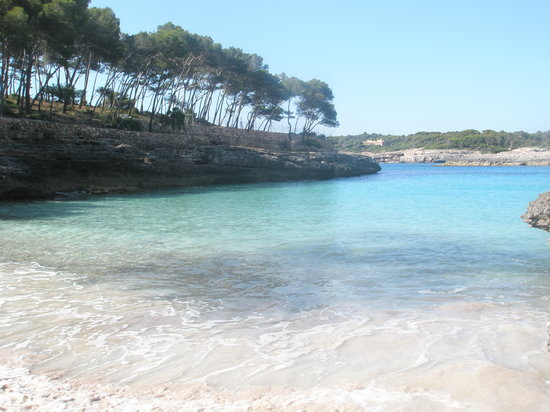 Cala Mondrago, Spain: CALA DES BORGIT