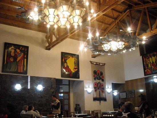 Los Penitentes, Argentina: comedor del hotel