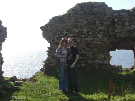 The Spindrift: Us at Newark Castle, St Monans