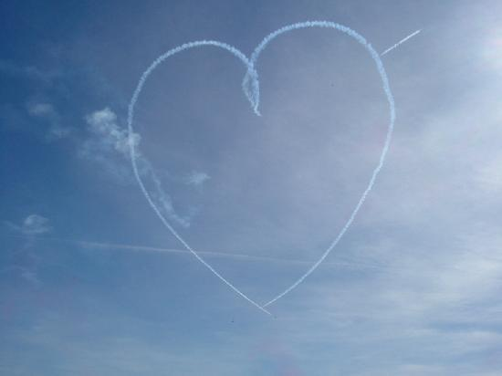 Our feelings on the Spindrift, as expressed by the Red Arrows (Leuchars)