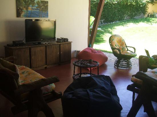 Pipa Hostel: the TVroom