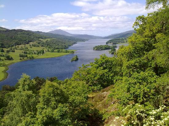 Knockendarroch House Hotel: The Queen's View Loch Tummel - just 20 minutes away from the Hotel by car