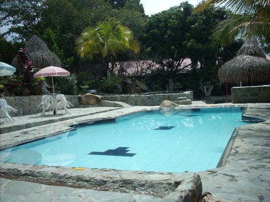 Finca Villa Luz: the pool