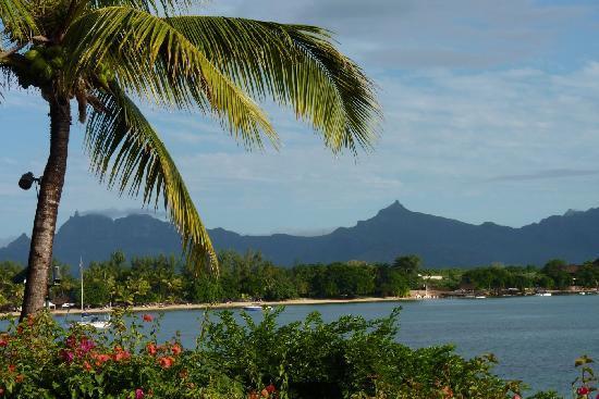 The Oberoi, Mauritius : terrace view