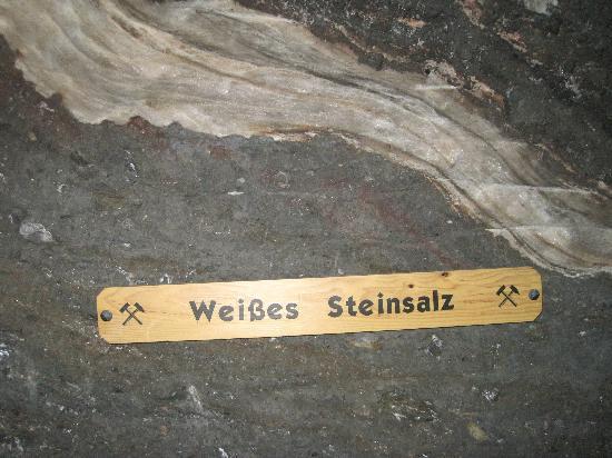 Hallein, Österreich: Salt Vein
