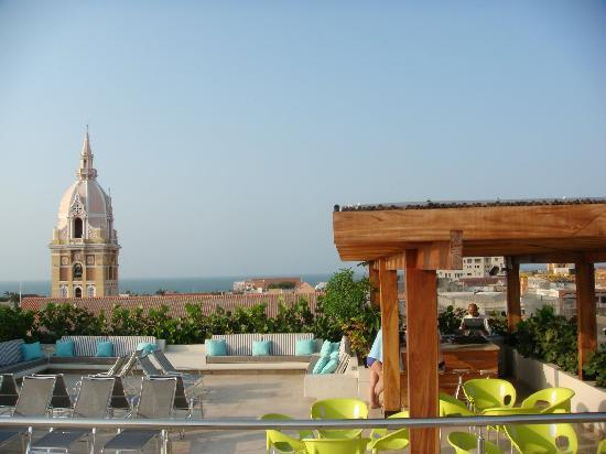 Movich Hotel Cartagena de Indias: Rooftop Terrace