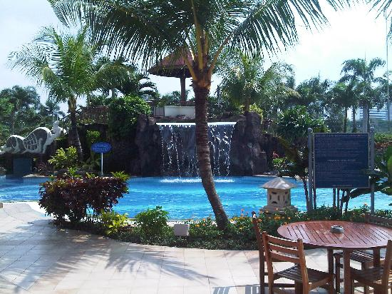 Puri Casablanca Serviced Apartment: Waterfall Pool