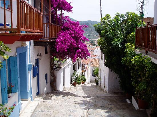 Skopelos Town.