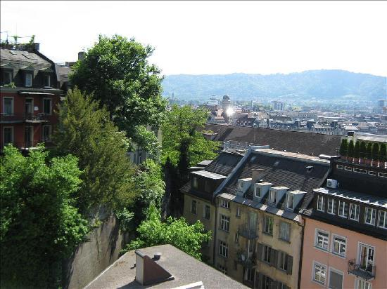 Hotel Royal Zurich: View from Room 701