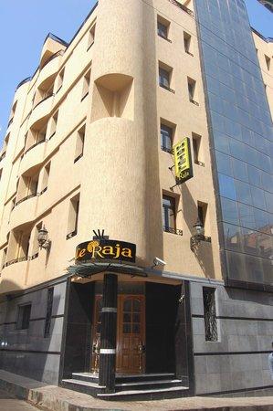 Le Raja Hotel: 12 rue Arago place des victoires