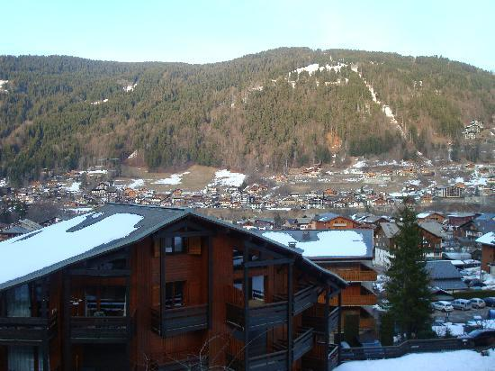 Chalet Clair Matin: View from our Chalet