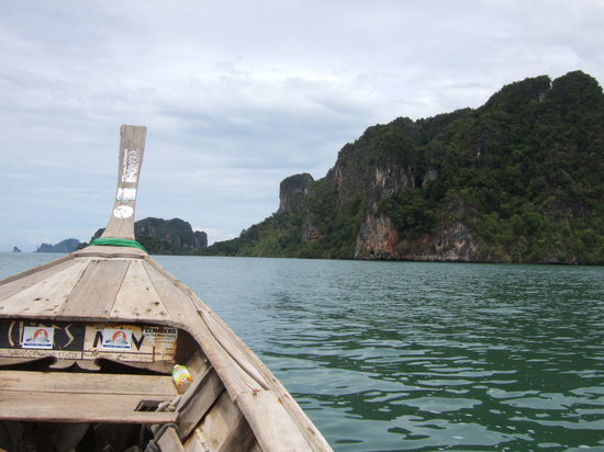 Sai Thai, Thailand: Longboat to Railey 6o Baht