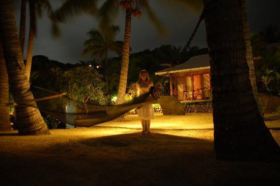 Wananavu Beach Resort: Strand Bungalow
