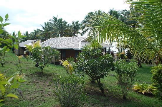 Wananavu Beach Resort: Gartenbereich