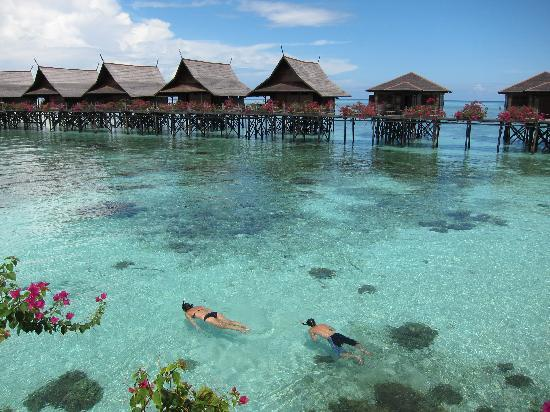 Water chalets picture of sipadan kapalai dive resort - Kapalai dive resort price ...