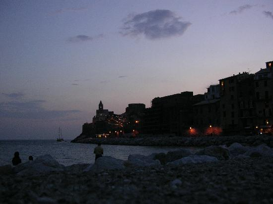 Isola Palmaria: portovenere by night