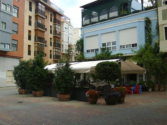 La Marquesita: exterior con terraza 2