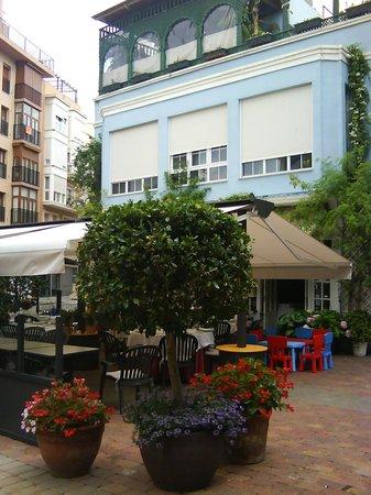 La Marquesita: exterior con terraza 3