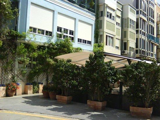 La Marquesita: exterior con terraza 6