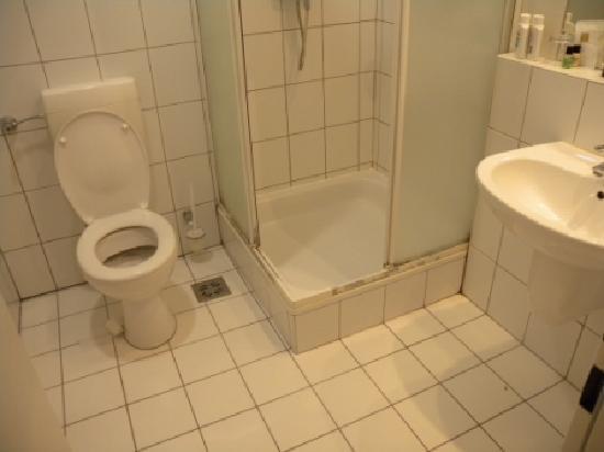 Alfa Hotel Fiesta: bathroom - filthy
