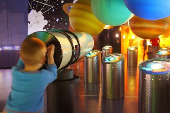 Observatoire et planétarium Ludiver : Planétarium Ludiver