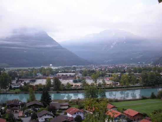 Gasthof Schoenegg: Beautiful view from the hotel