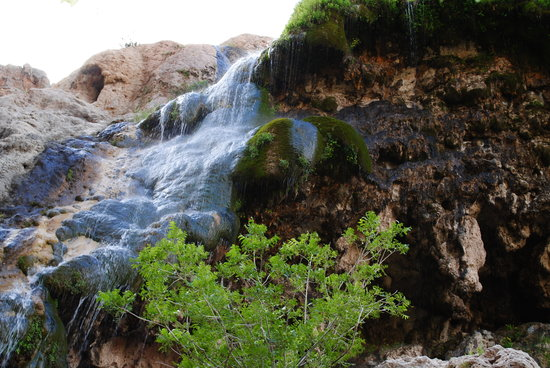 Carlsbad, NM: the falls