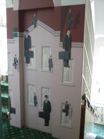Hotel Victoria : ascensore