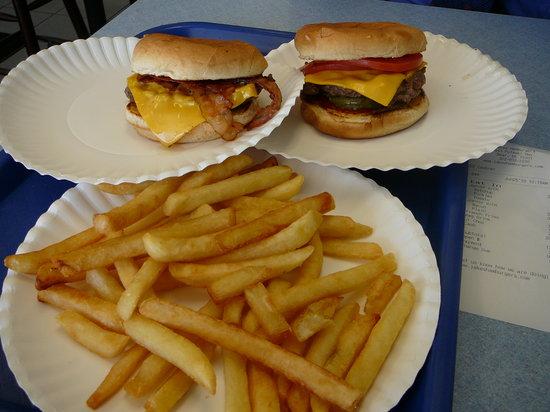 Jake's Wayback Burgers : Fries & Burgers at Jake's in Bear