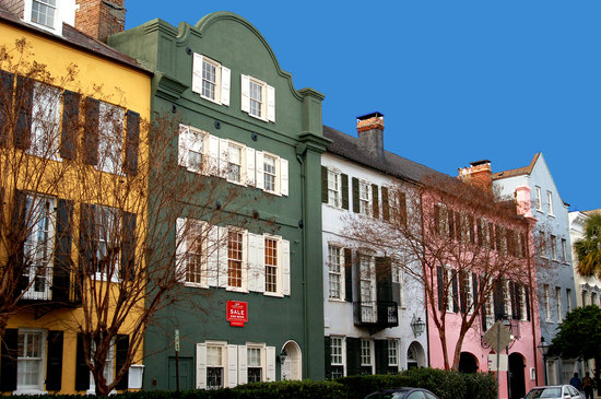 Charleston Sole Walking Tours: Rainbow Row