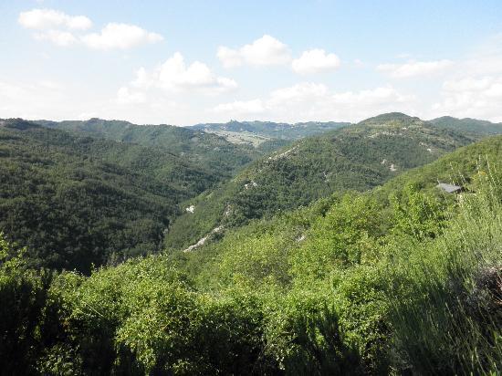Locanda del Gallo: Wonderfull views
