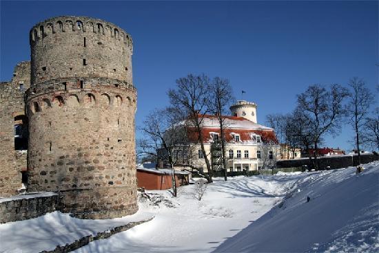 Cesis, Lettland: mittelalterlichen und neuen Schlösser
