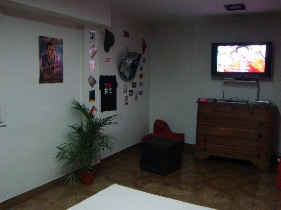 Petit Recoleta Hostel: Sala de estar