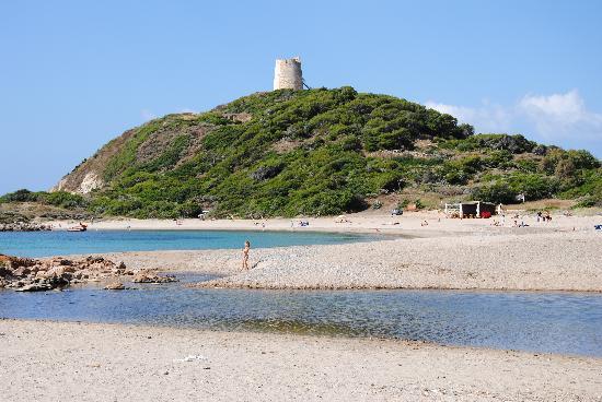 Club Valtur Parco Torre Chia: spiaggia porticciolo
