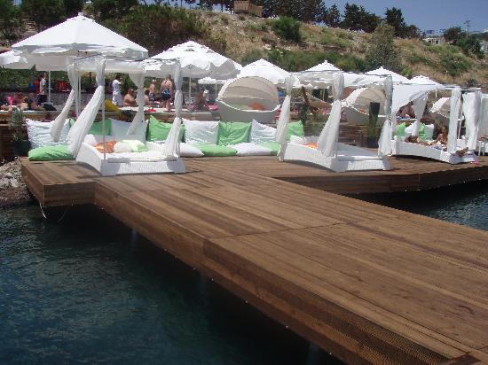 Mio Bianco Resort: beach bar