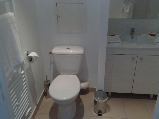 Sejours et Affaires Les Rives: WC salle de bains
