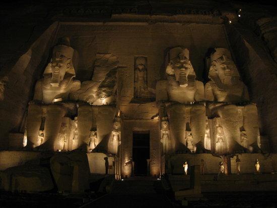 Sound and Light Show - Abu Simbel