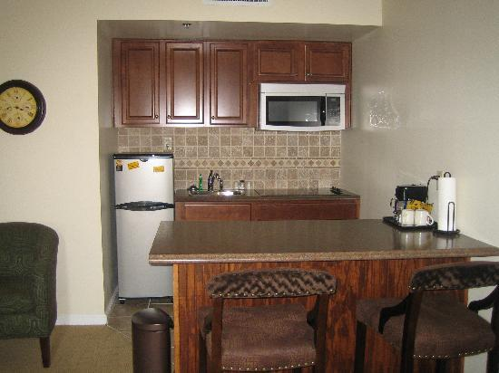 Riverview Suites: Kitchen