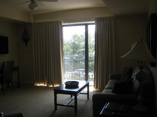 Riverview Suites: Balcony
