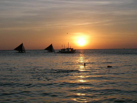 بوراكاي, الفلبين: tramonto a Boracay