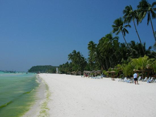 Boracay, Philippines: mare,spaiggia,palme