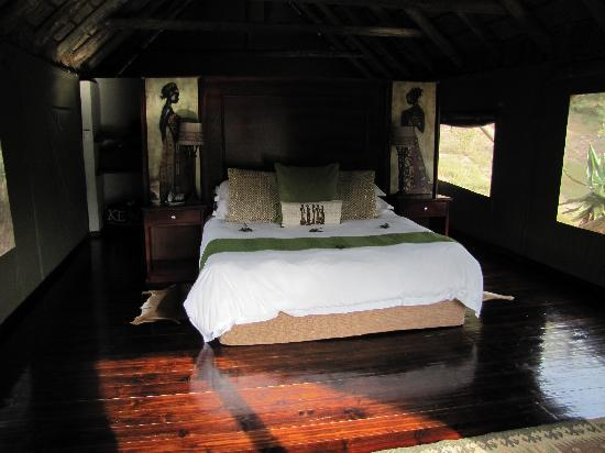 ‪‪Shamwari Game Reserve Lodges‬: The tented bedroom‬